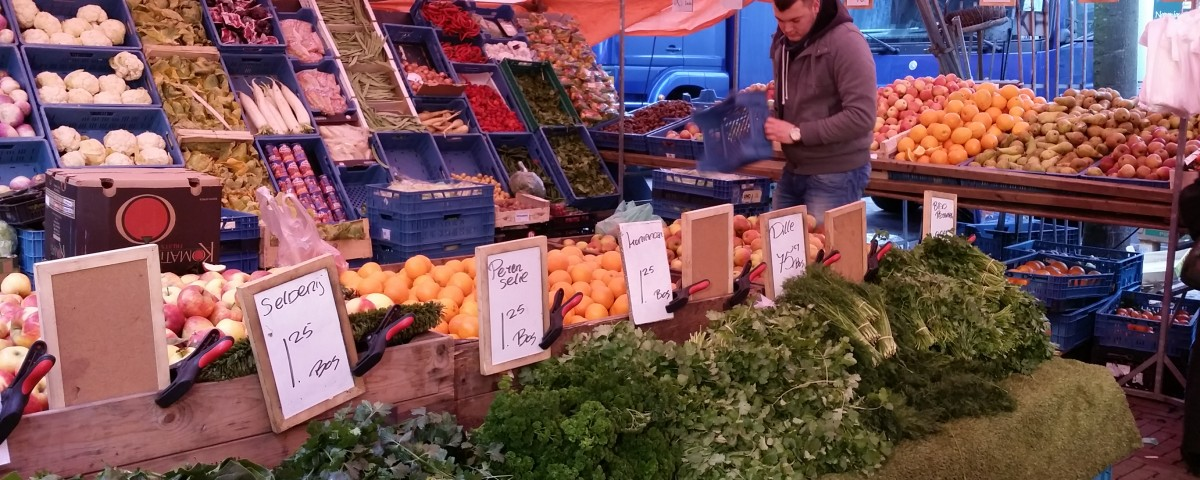 Local Market in Arnhem