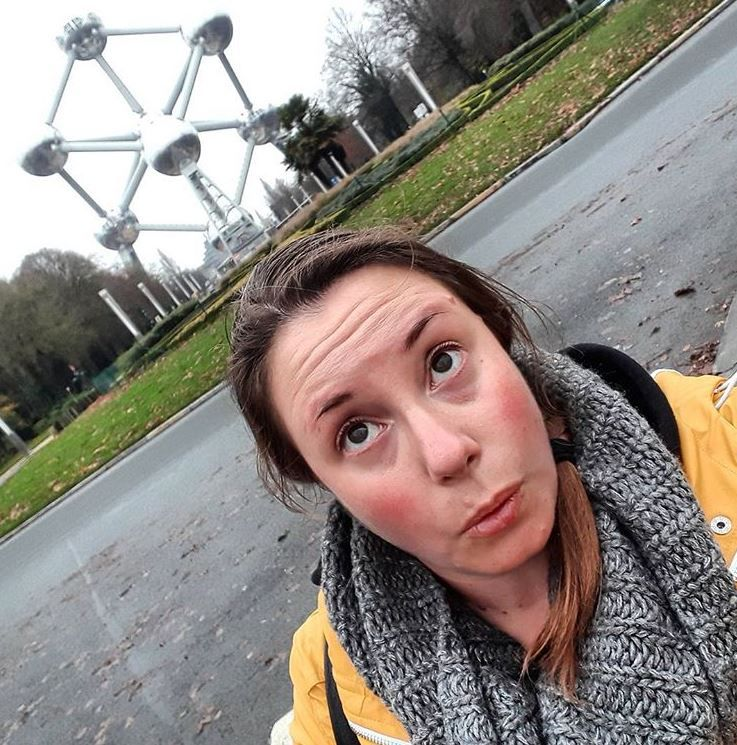 Me at the Atomium // Brussels