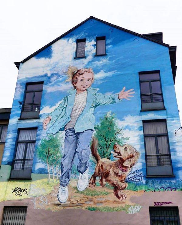 Mural // Brussels