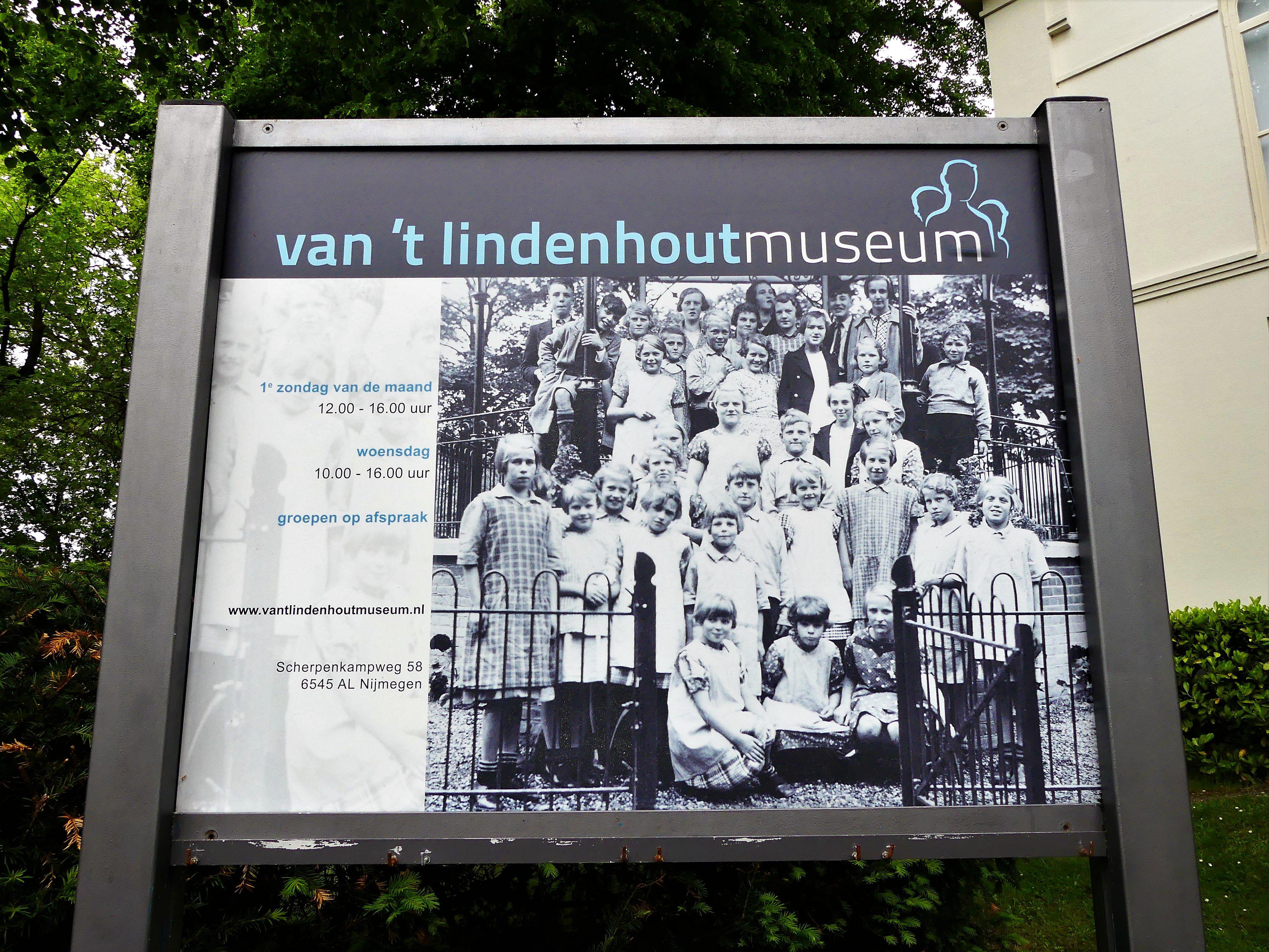 Zeker een bezoekje waard: het Van 'T Lindenhout Museum. in Nijmegen